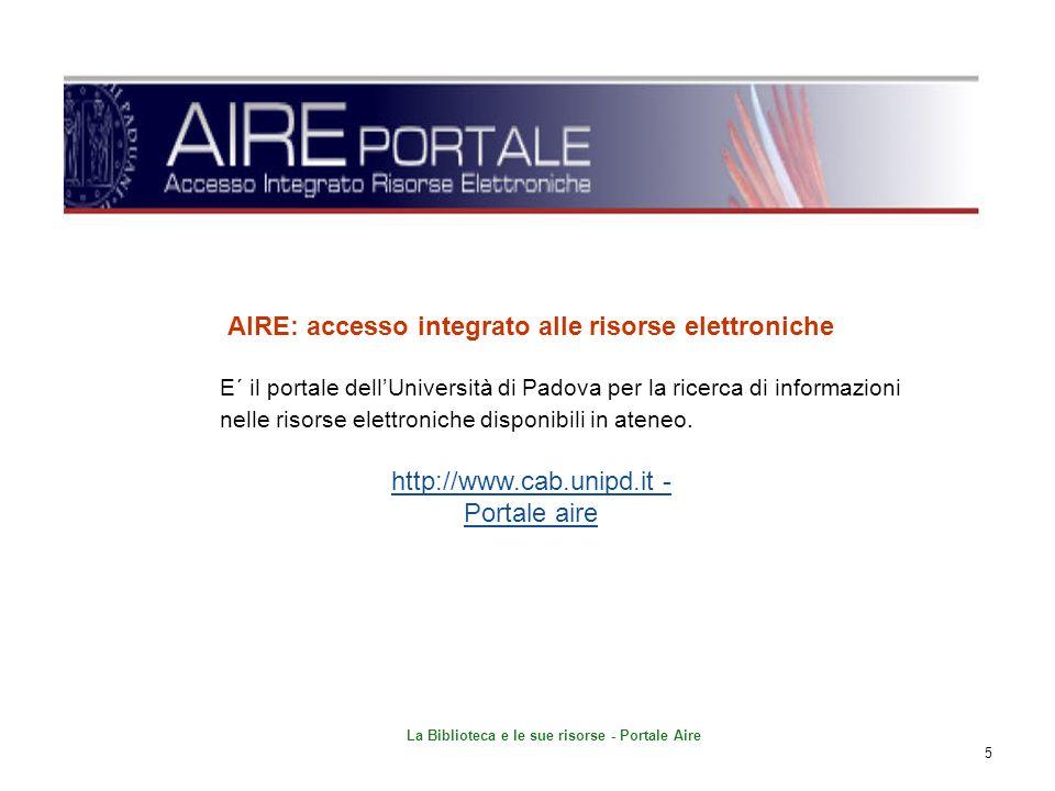 La Biblioteca e le sue risorse - Portale Aire 26 SALVARE I RISULTATI IN REFWORKS Funzione salva 1 3 2