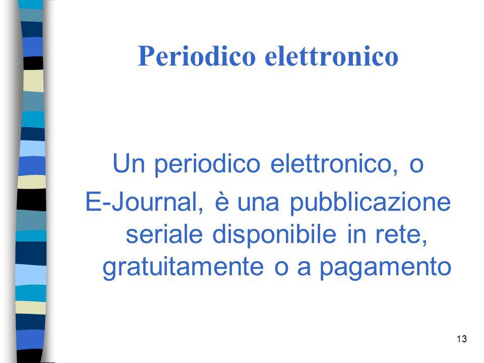 12 ACNP esempi di posseduto un indicazione come: Da anno - Ad anno :71(1946)- indica che il periodico è posseduto dal n.