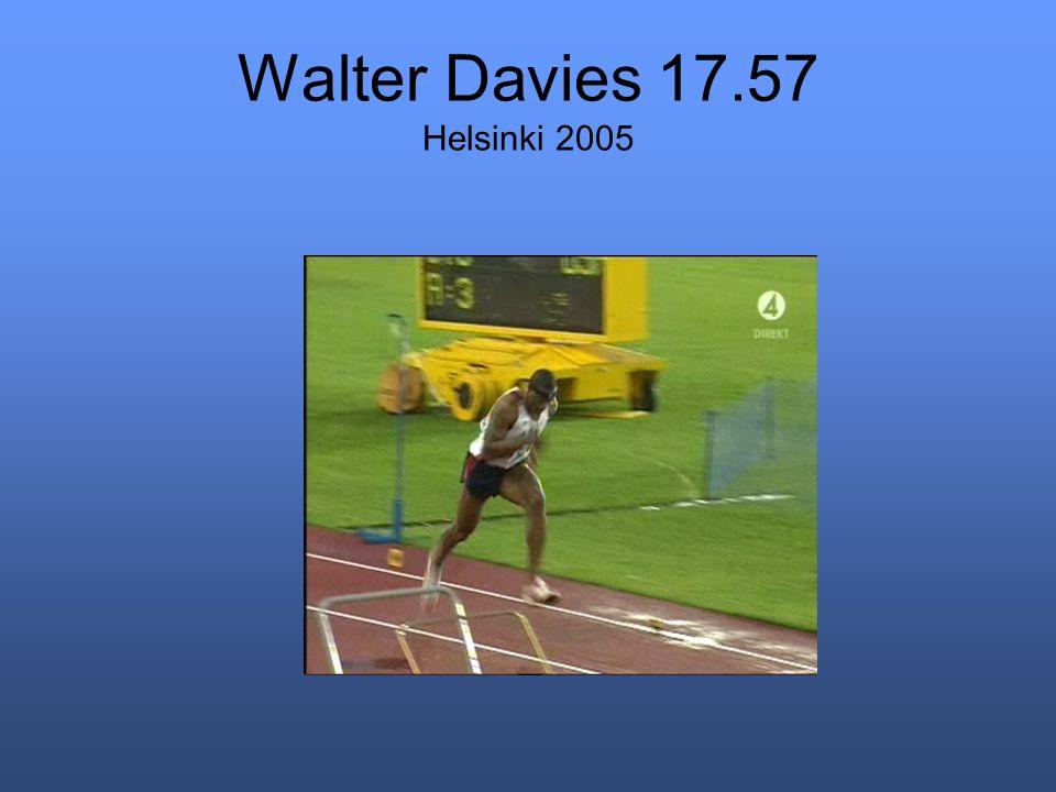 Walter Davies 17.57 Helsinki 2005