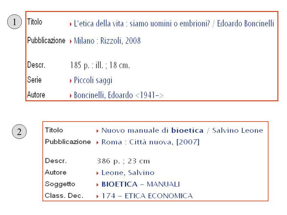 Monografia N: Edoardo Boncinelli, Letica della vita: siamo uomini o embrioni.