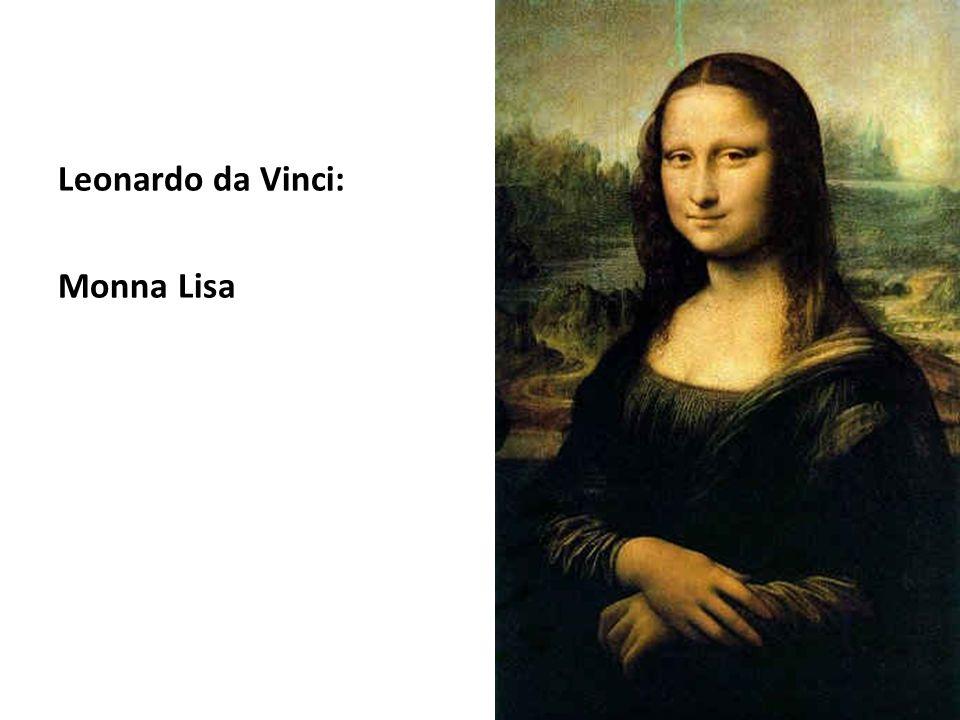 Leonardo da Vinci: Monna Lisa