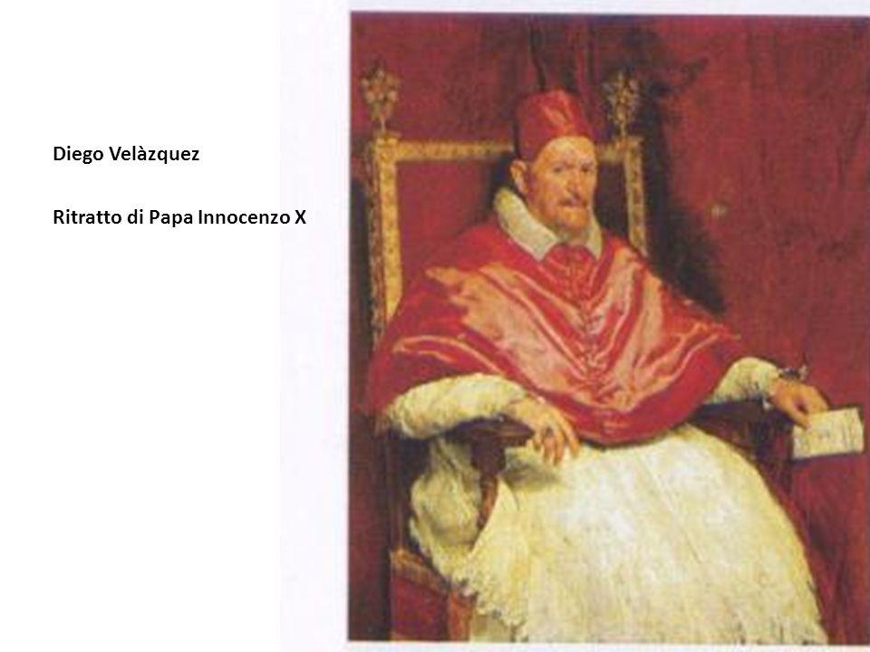Diego Velàzquez Ritratto di Papa Innocenzo X