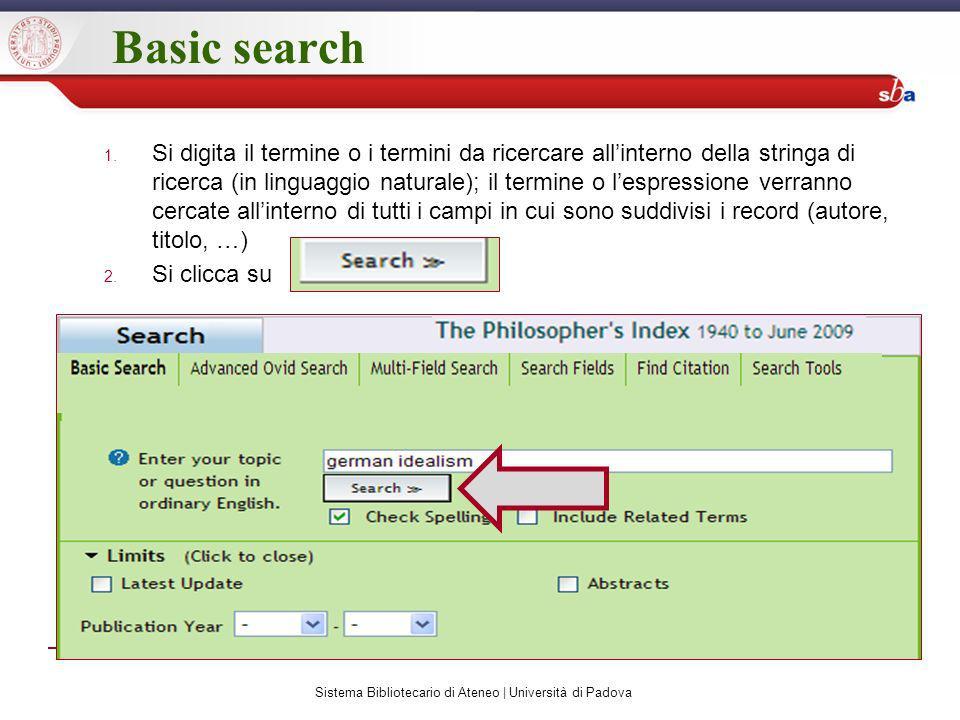 Search history 1.Si nomina la ricerca che si vuole salvare 2.