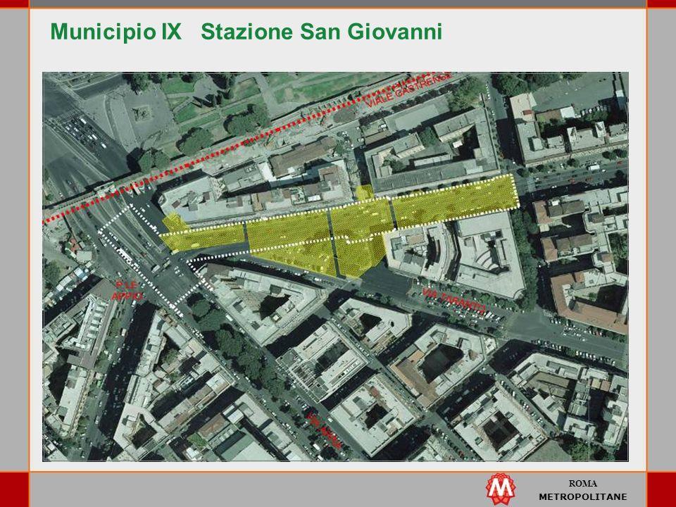 ROMA METROPOLITANE Municipio IX Stazione San Giovanni