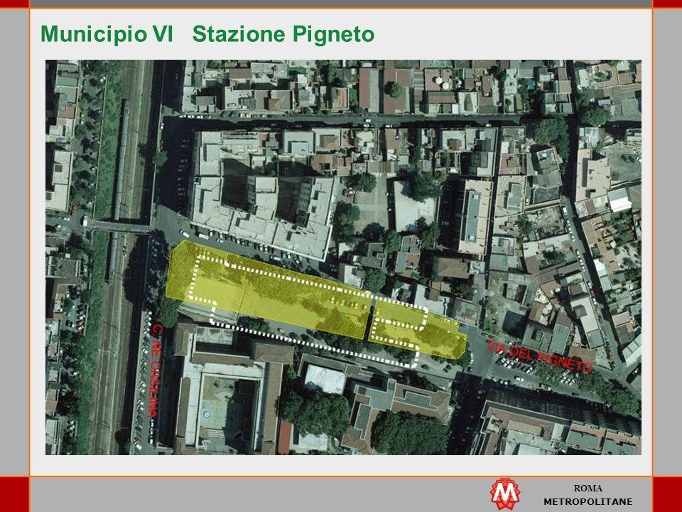 ROMA METROPOLITANE Municipio VI Stazione Pigneto