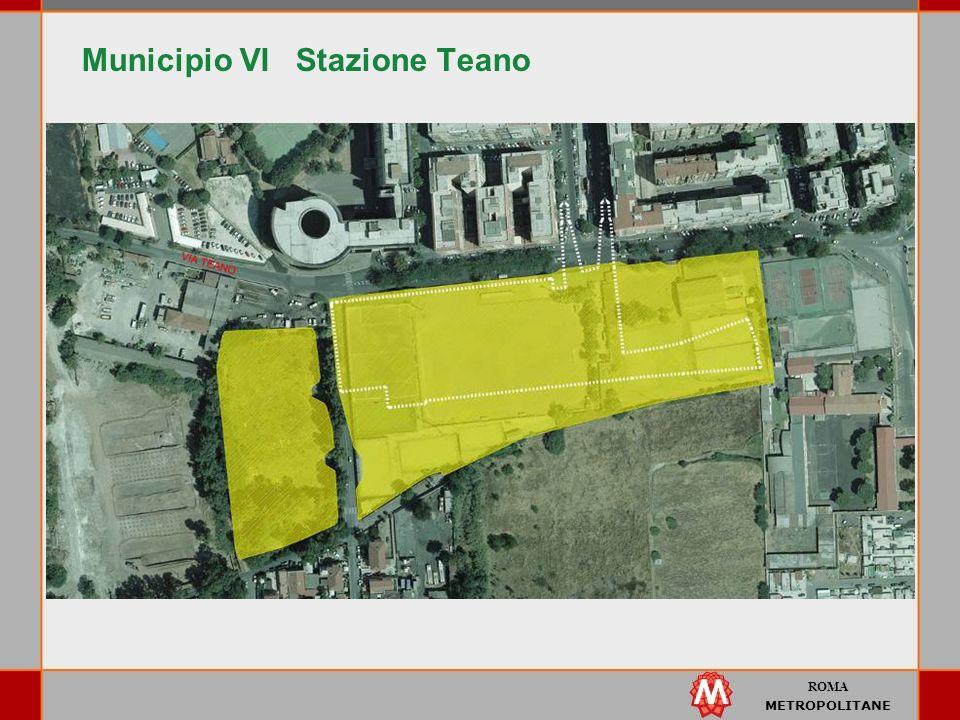 ROMA METROPOLITANE Municipio VI Stazione Teano