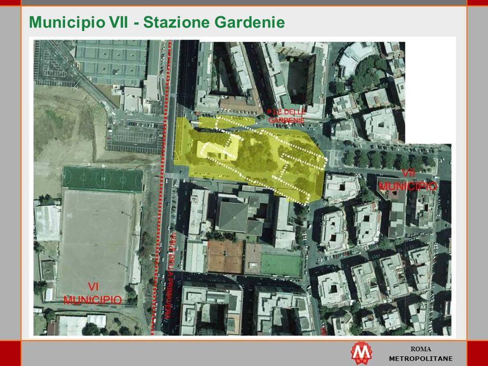 ROMA METROPOLITANE Municipio VII - Stazione Gardenie