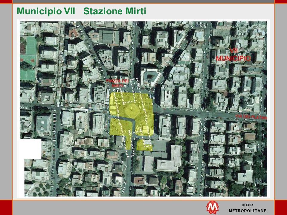 ROMA METROPOLITANE Municipio VII Stazione Mirti