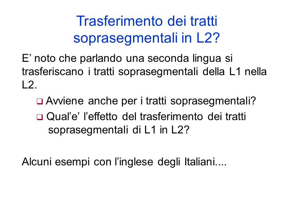 Variazioni nellandamento di F0 in Italiano Pisano Gili Fivela (2002, 2004): Picchi per il broad ed il narrow focus differenziati da diversi tempi di s