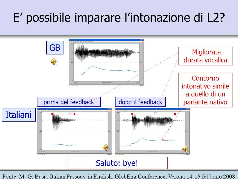 Quali i possibili effetti? La mancanza di prominenze puo rendere la struttura informativa della frase poco chiara (nuova informazione? enfasi?) La man