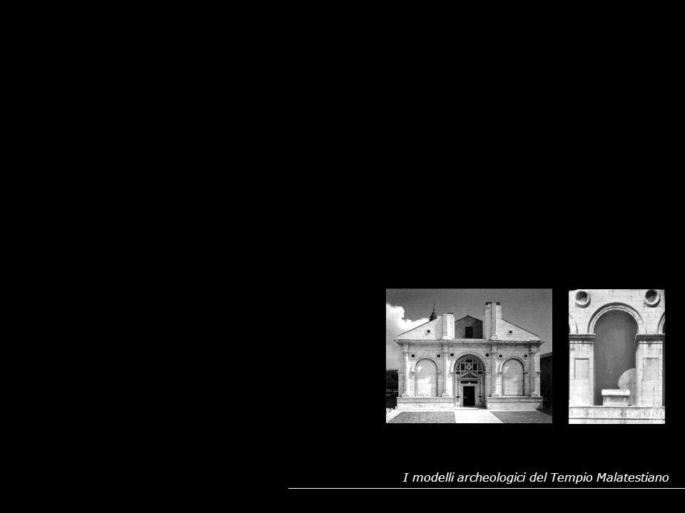 POSSIBILI MODELLI ARCHEOLOGICI PER LA FACCIATA