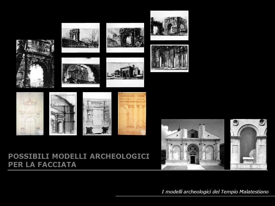 I modelli archeologici del Tempio Malatestiano RIPRESA DELLE EPIGRAFE DEDICATORIA: ROMA E RIMINI