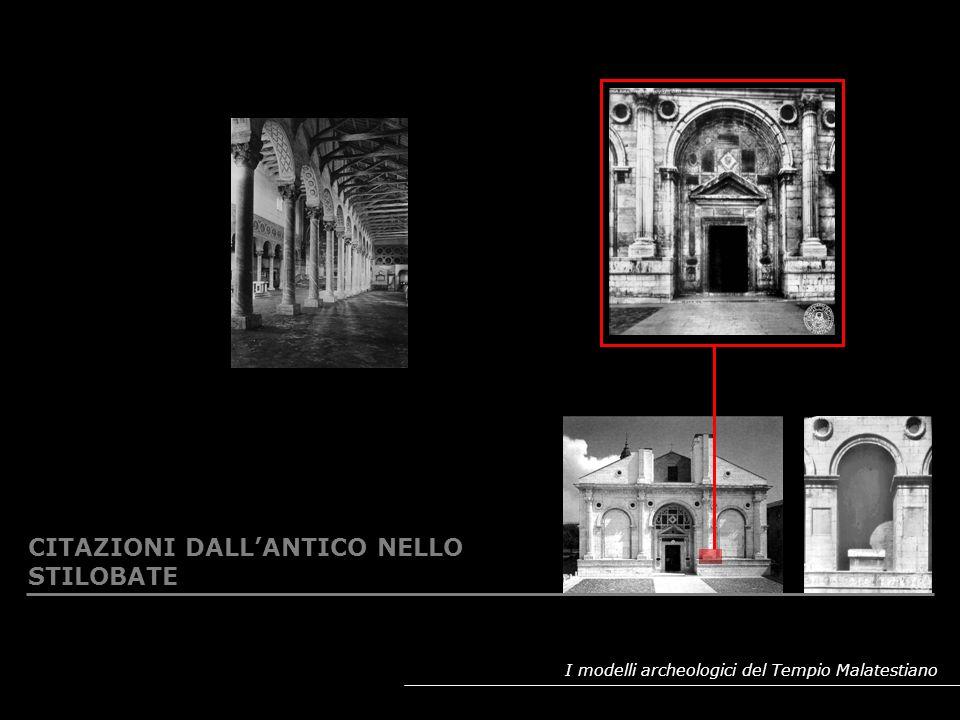 I modelli archeologici del Tempio Malatestiano CAPITELLI IN SERIE: MODELLI E TIPOLOGIE