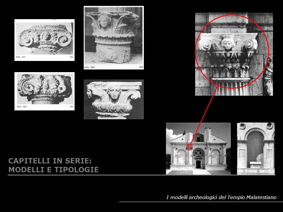 I modelli archeologici del Tempio Malatestiano RIPRESA DELLA DECORAZIONE A GIRALI