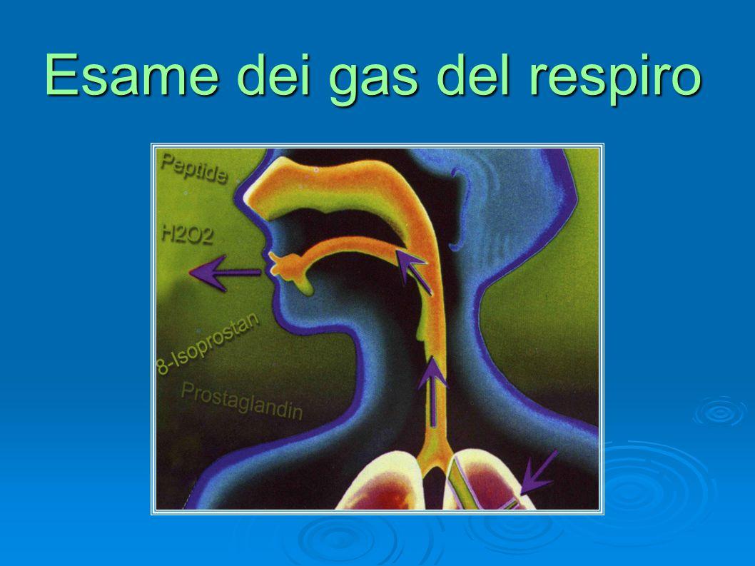 Esame dei gas del respiro