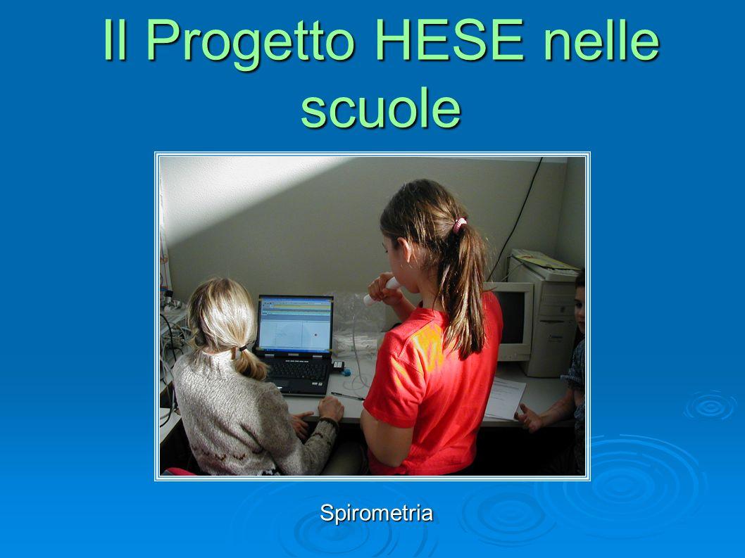Spirometria Il Progetto HESE nelle scuole