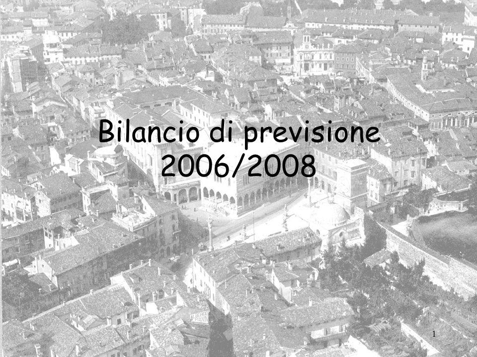 1 Bilancio di previsione 2006/2008