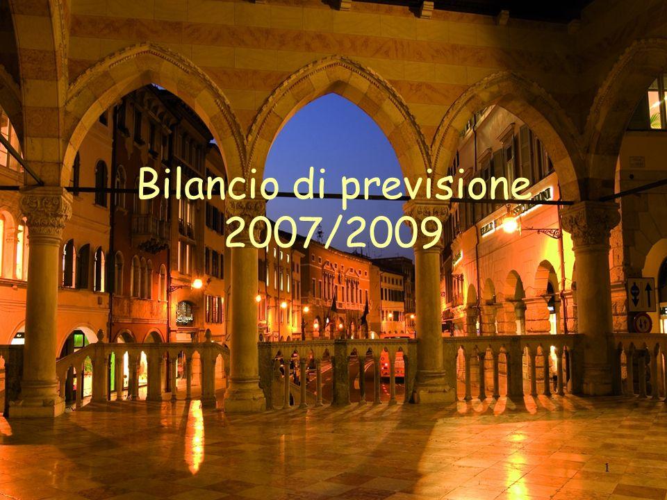 1 Bilancio di previsione 2007/2009