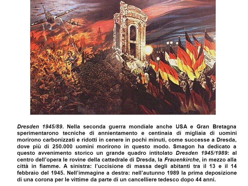 Dresden 1945/89. Nella seconda guerra mondiale anche USA e Gran Bretagna sperimentarono tecniche di annientamento e centinaia di migliaia di uomini mo