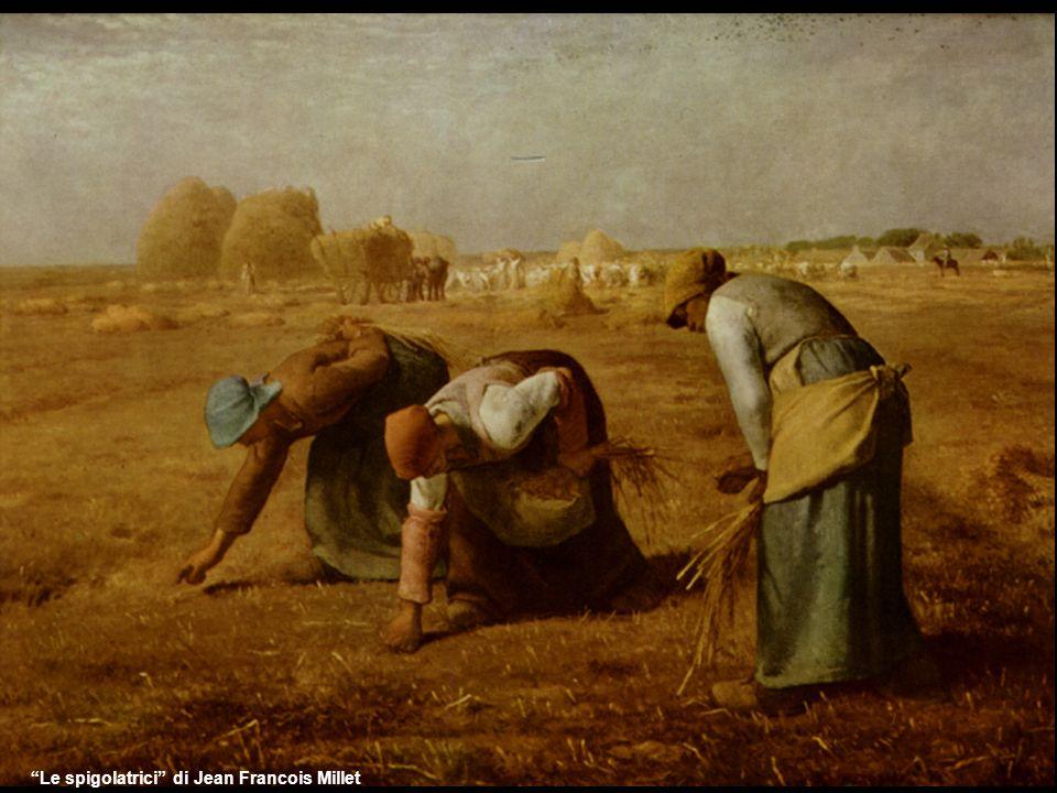 LAngelus di Jean Francois Millet Coerente all interesse mostrato da Millet per la vita rurale, quest opera ci mostra uno splendido spaccato del ruolo giocato dalla religione nella vita dei contadini.