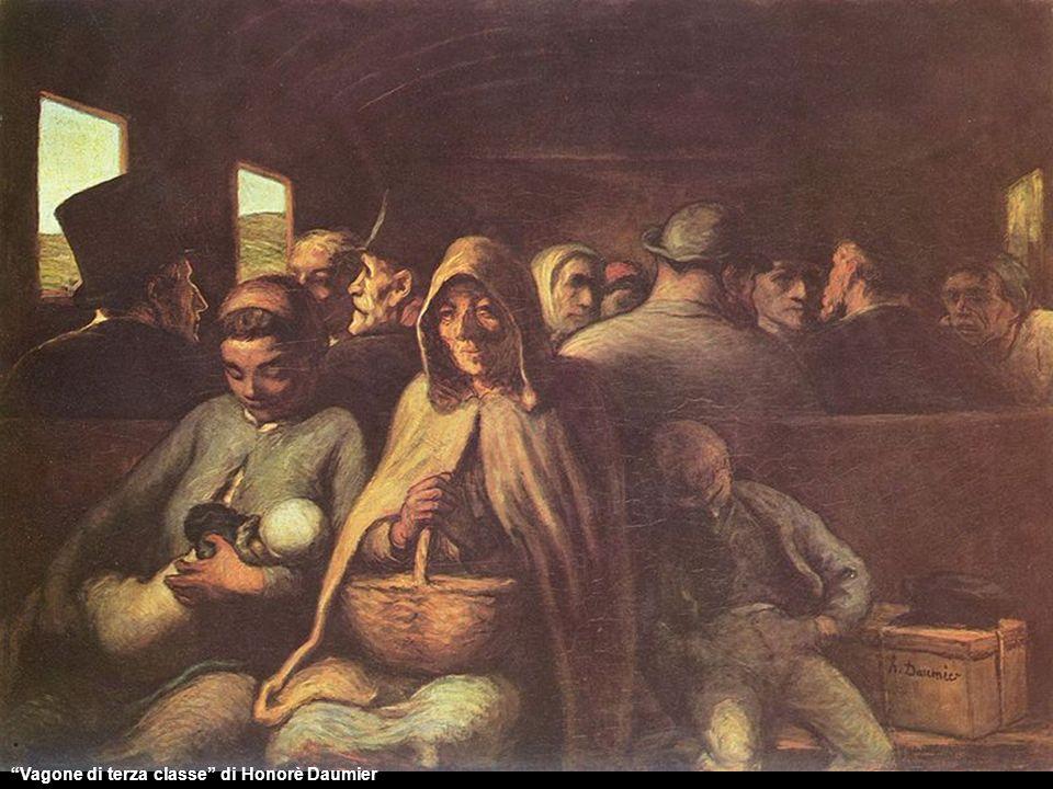 Vagone di terza classe di Honorè Daumier
