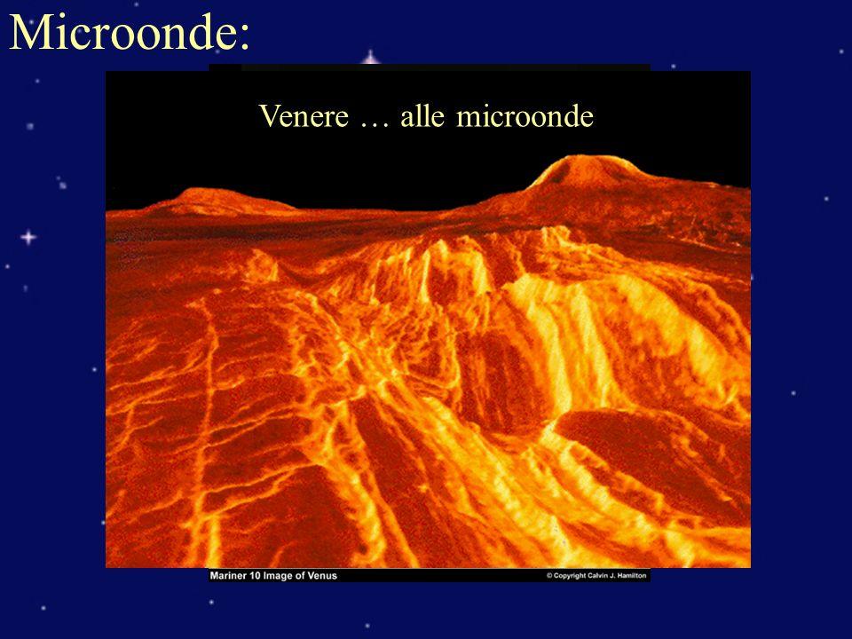 Venere nel visibile Microonde: Venere … alle microonde