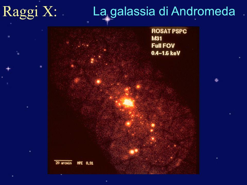 Raggi X: La galassia di Andromeda