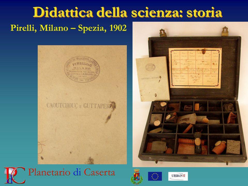 Didattica della scienza: storia Pirelli, Milano – Spezia, 1902