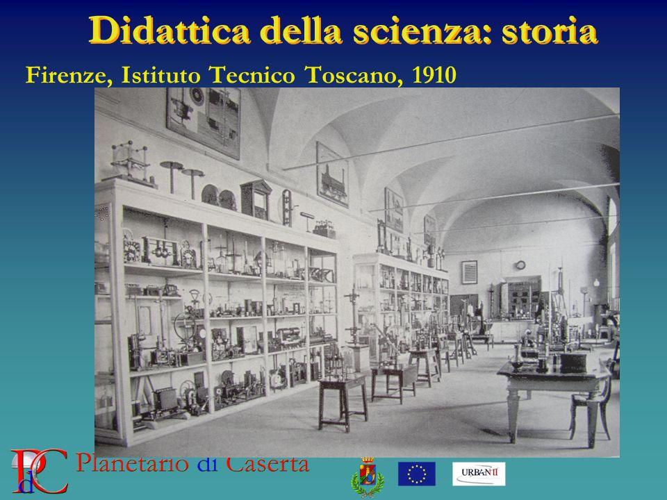 Didattica della scienza: storia Firenze, Istituto Tecnico Toscano, 1910
