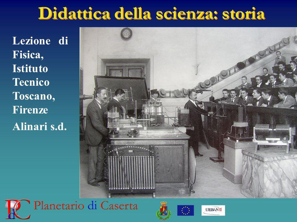 Didattica della scienza: storia Lezione di Fisica, Istituto Tecnico Toscano, Firenze Alinari s.d.