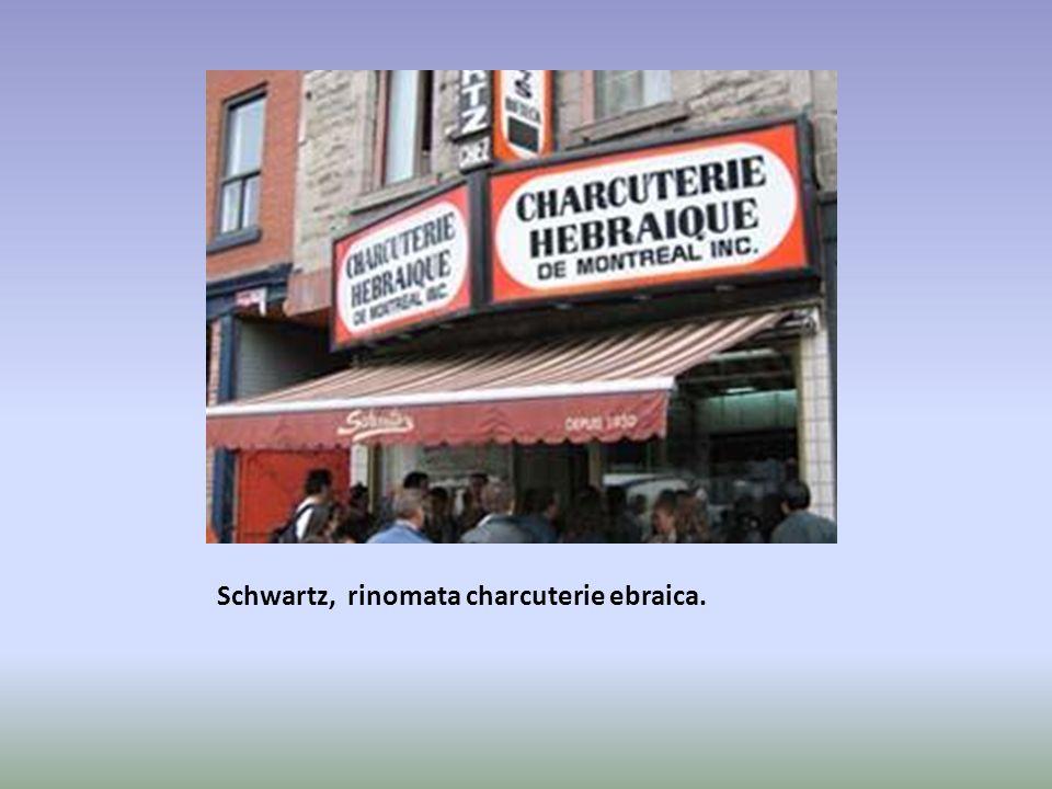 Schwartz, rinomata charcuterie ebraica.