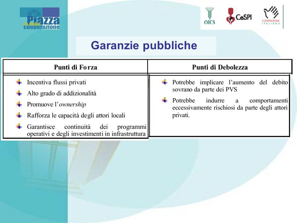 Garanzie pubbliche