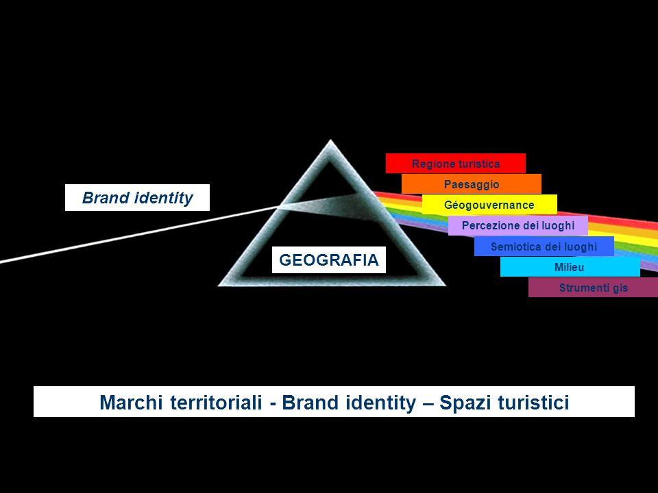 geografiaGEOGRAFIA Brand identity Regione turistica Paesaggio Percezione dei luoghi Semiotica dei luoghi Milieu Strumenti gis Géogouvernance Marchi te