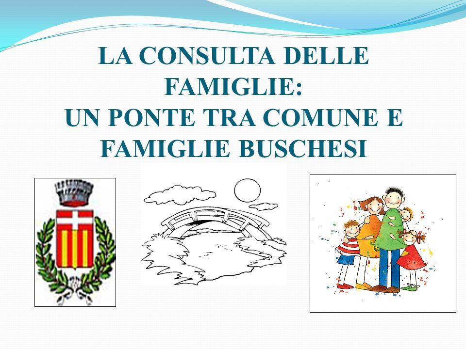 LA CONSULTA DELLE FAMIGLIE: UN PONTE TRA COMUNE E FAMIGLIE BUSCHESI