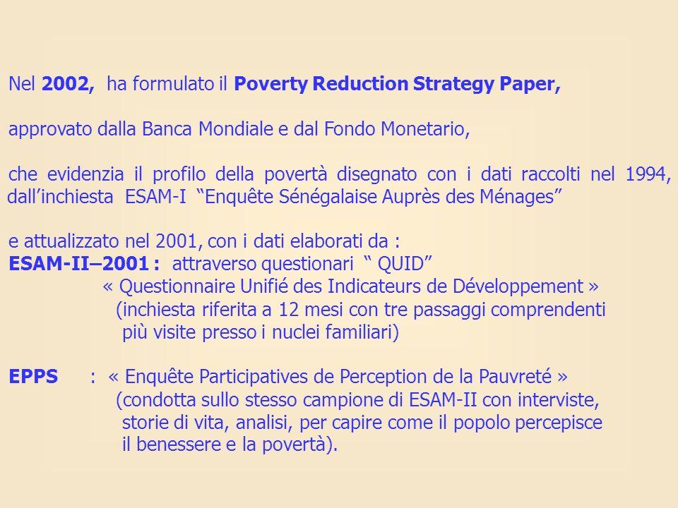 Nel 2002, ha formulato il Poverty Reduction Strategy Paper, approvato dalla Banca Mondiale e dal Fondo Monetario, che evidenzia il profilo della pover