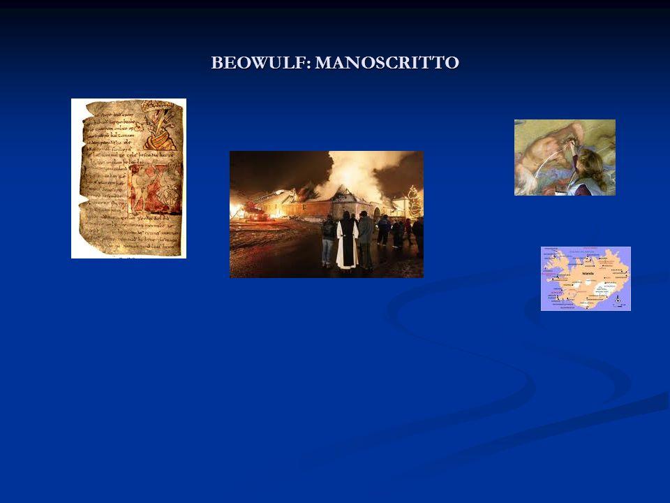 BEOWULF: MANOSCRITTO