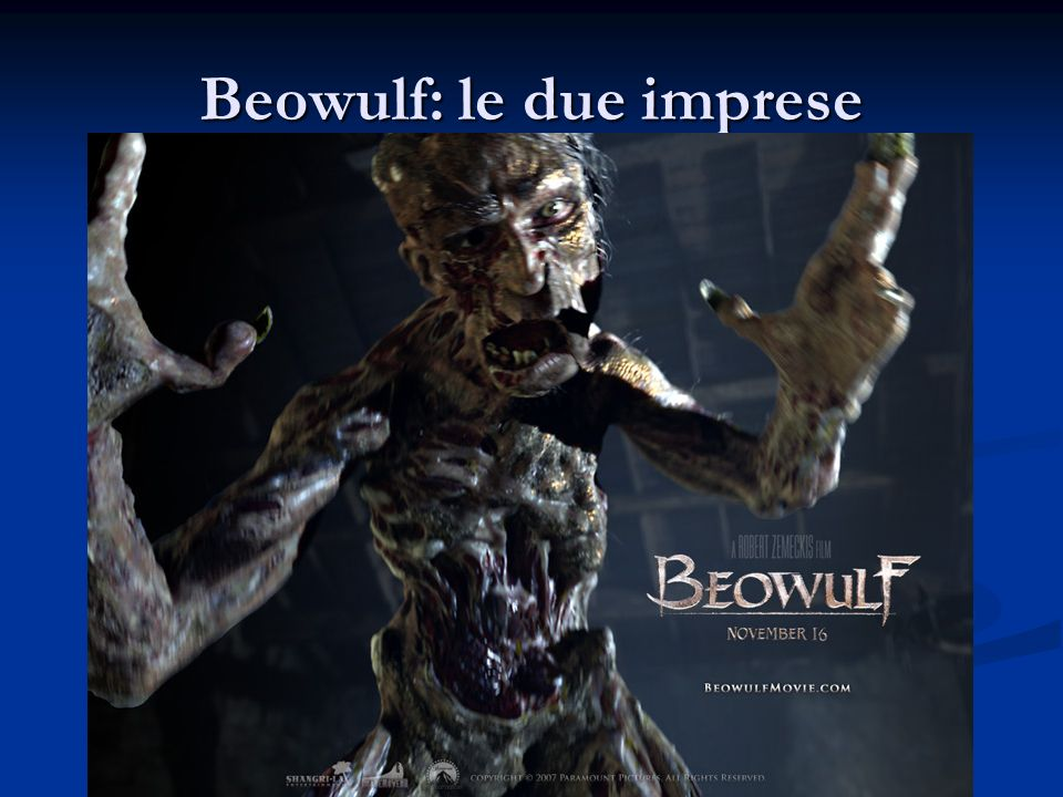 Beowulf: le due imprese
