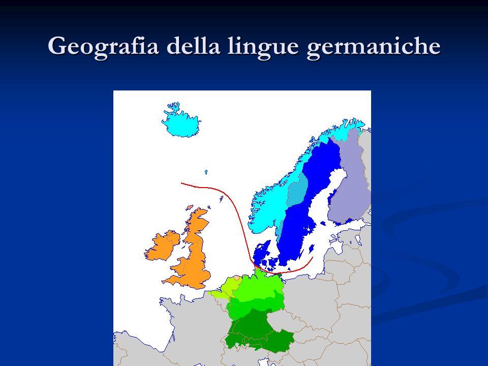 La lingua del Beowulf: origini Germanico antico germ.