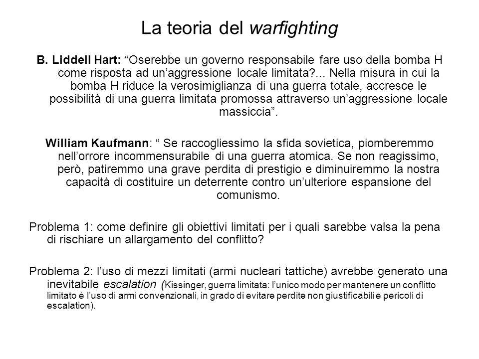 La teoria del warfighting B.