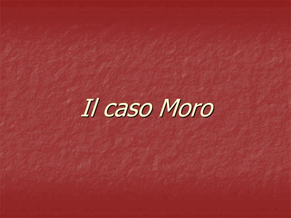 Caso Moro 2 Atti terroristici 1975 (702), 1976 (1198), 1977 (2128).