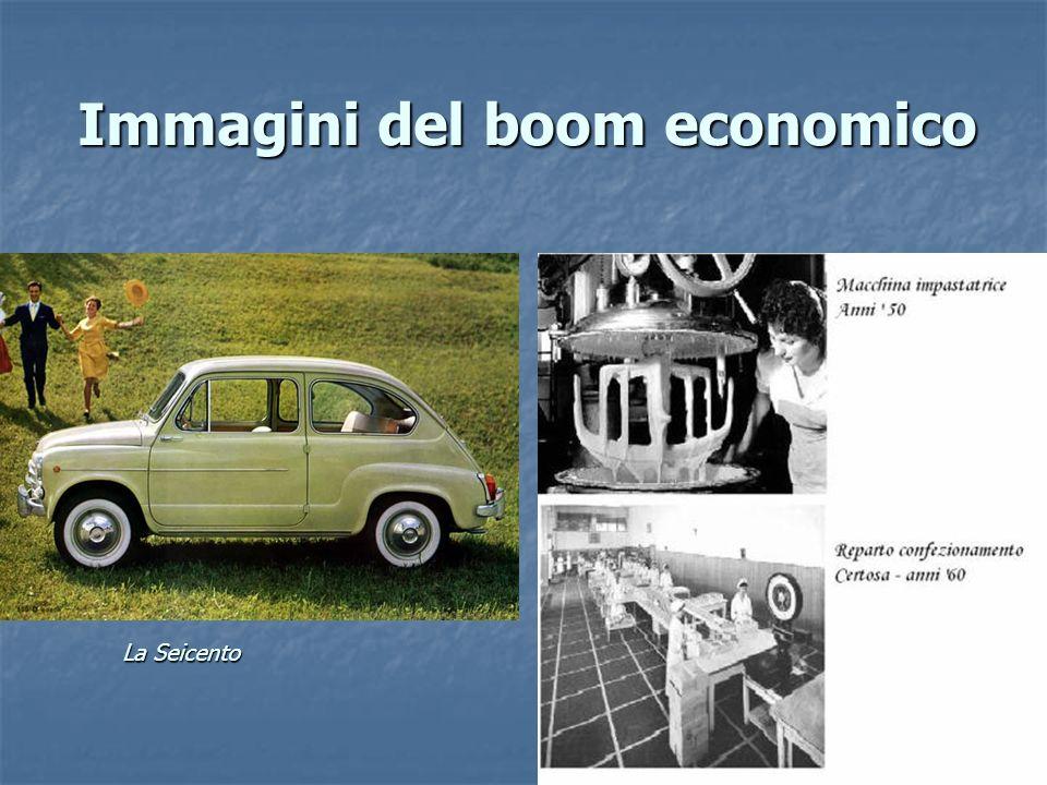 Immagini del boom economico La Seicento