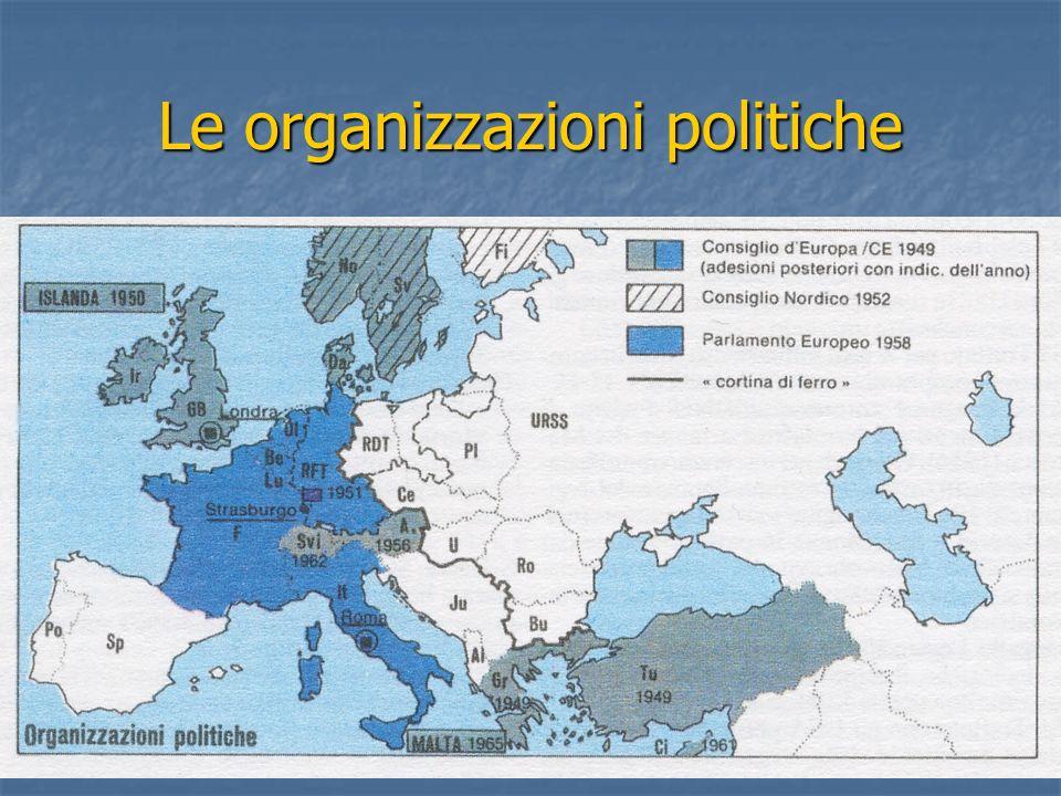 Le organizzazioni politiche
