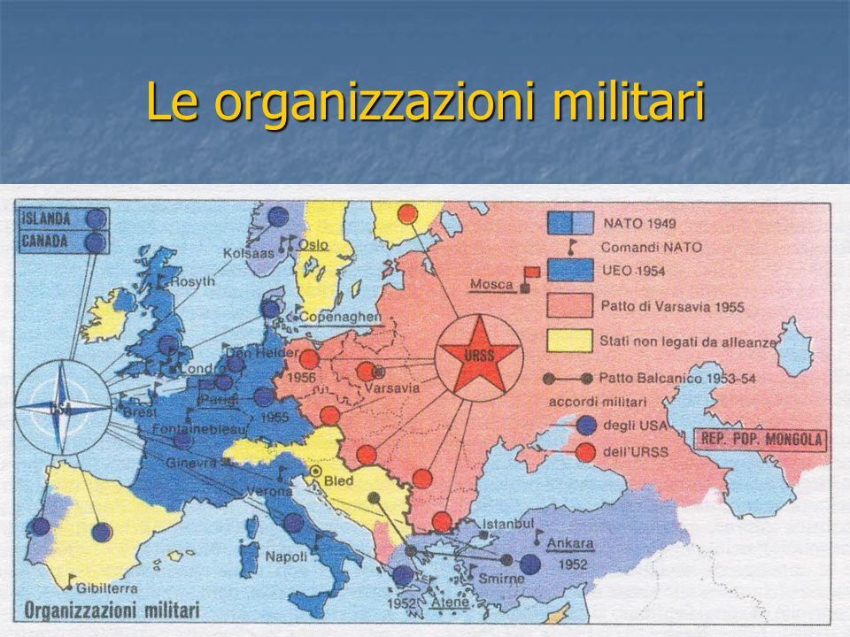 Le organizzazioni militari