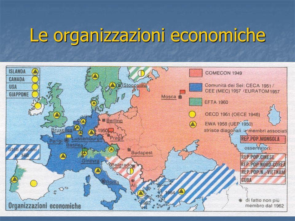 Le organizzazioni economiche