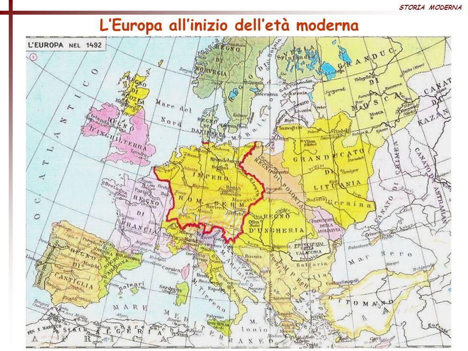 STORIA MODERNA LEuropa allinizio delletà moderna
