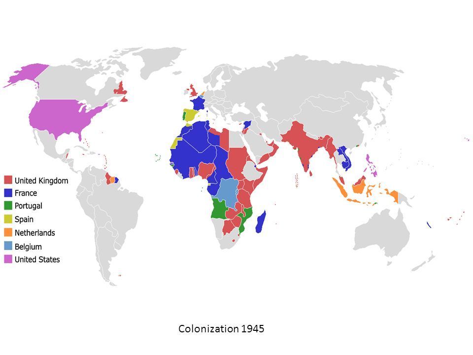 Colonization 1945