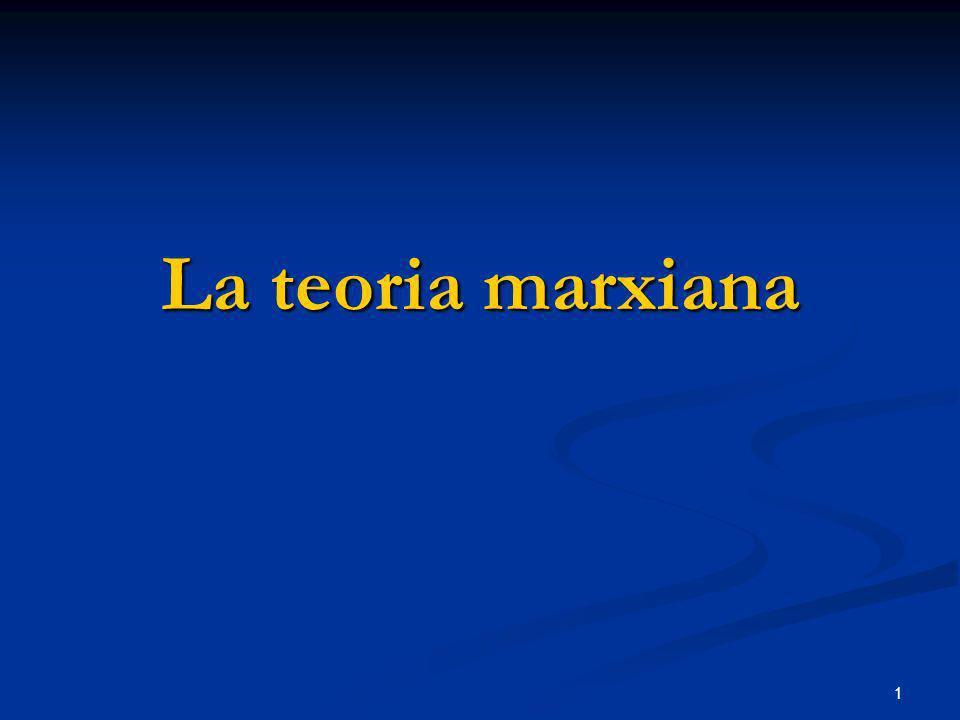 1 La teoria marxiana