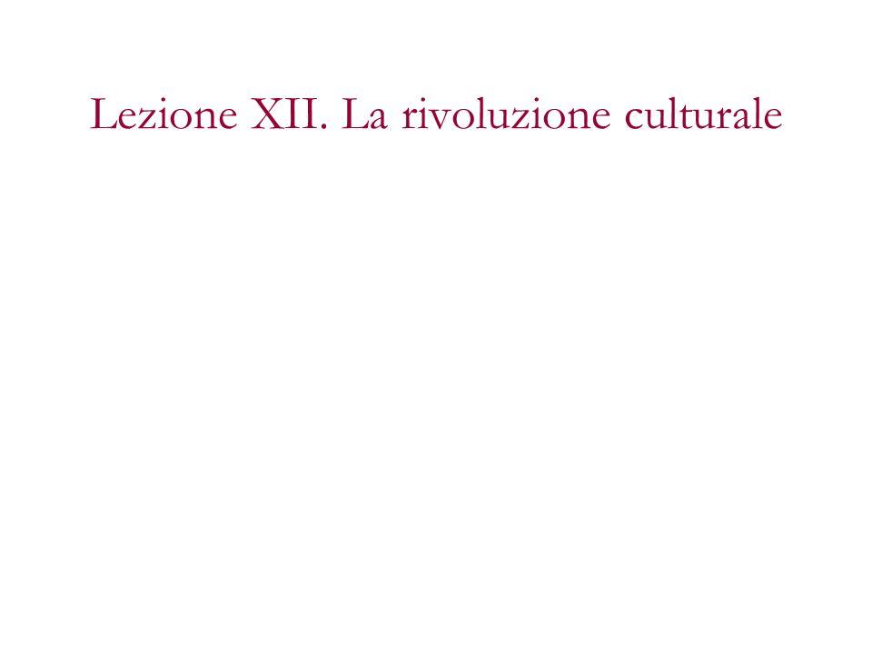 Due aspetti principali: –La rivoluzione del sentimento e lemergere del soggetto femminile –la secolarizzazione