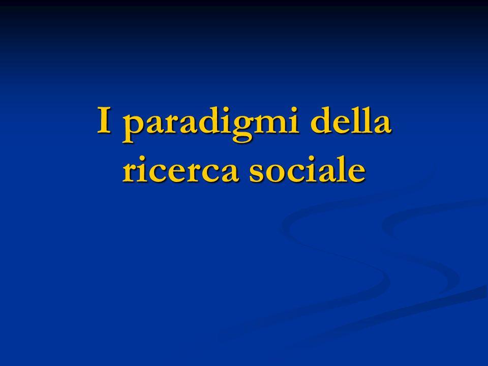 La sociologia come terza cultura Fino alla Seconda guerra mondiale, paradigmi e teorie sociologiche erano fortemente legati al contesto nazionale.