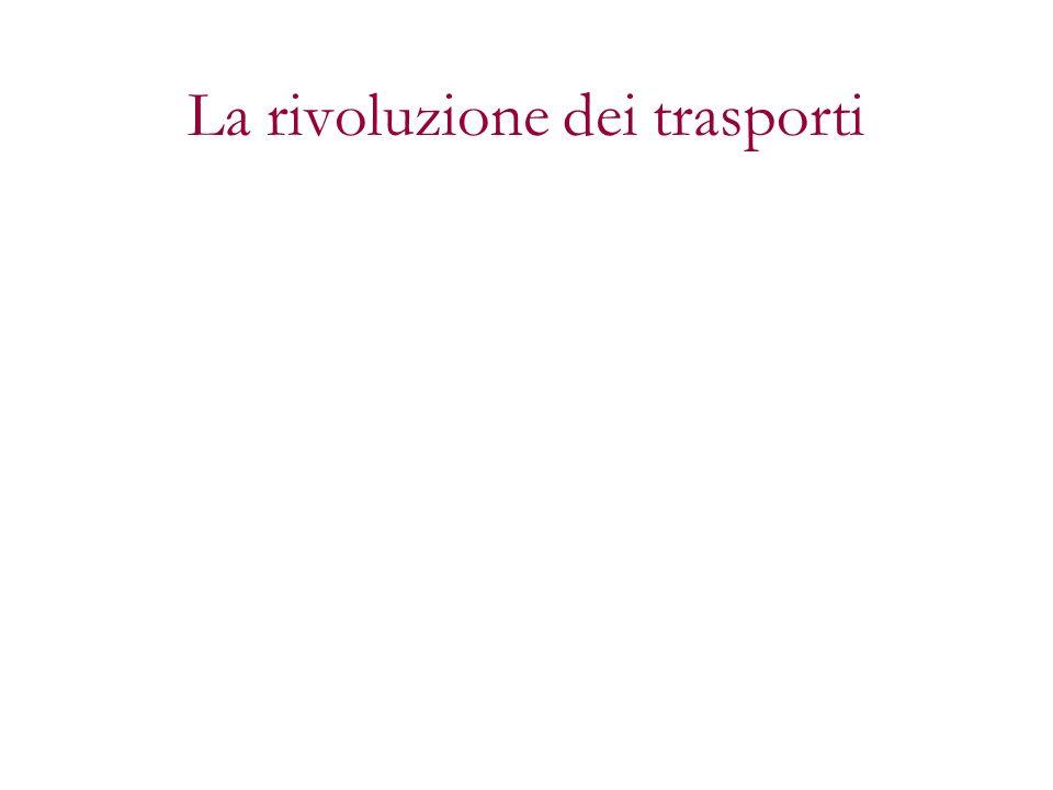 La rivoluzione dei trasporti